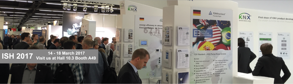 KNX booth at ISE 2016